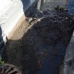 Denver Pressure Washing of Commercial Building Gutters