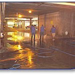 Parking Garage Cleaning And Pressure Washing