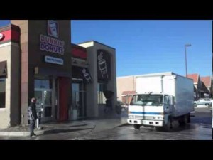 Restaurant pressure washing & grease cleanup