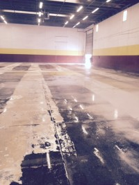 Pressure Washing To Remove Glue From Indoor Soccer Field 05