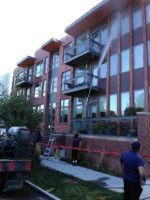 New construction building pressure washing 02