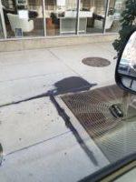 Paint Spill Cleanup On Downtown Denver Sidewalk 01