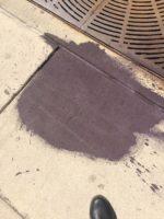 Paint Spill Cleanup On Downtown Denver Sidewalk 03