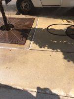 Paint Spill Cleanup On Downtown Denver Sidewalk 08