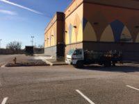 Sidewalk Pressure Washing For Regal Cinemas 12