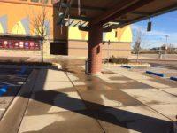 Sidewalk Pressure Washing For Regal Cinemas 04
